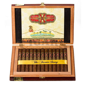 Arturo Fuente Forbidden X Torch Bearer 2012 Box Open