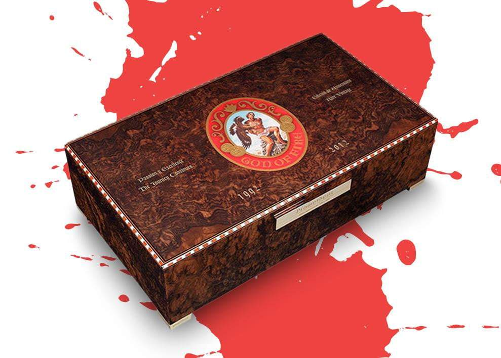 Arturo Fuente God Of Fire Humidor Limited Edition Band