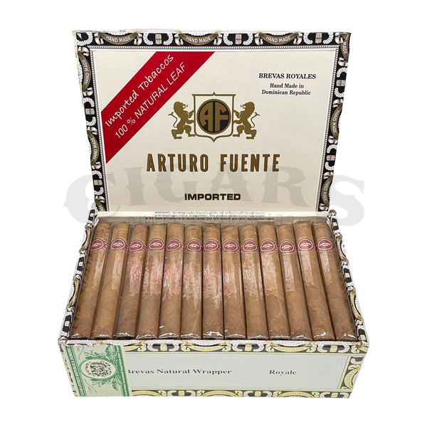 Load image into Gallery viewer, Arturo Fuente Gran Reserva Brevas Royale Natural Box Open
