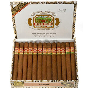 Arturo Fuente Gran Reserva Churchill Natural Box Open