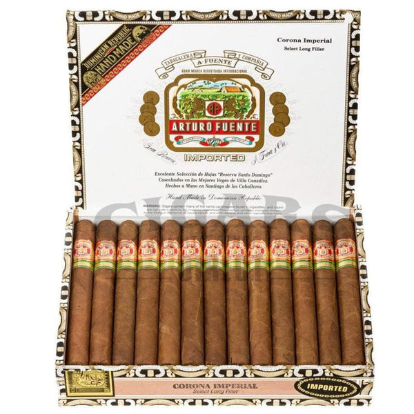 Load image into Gallery viewer, Arturo Fuente Gran Reserva Corona Imperial Natural Box Open