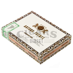 Arturo Fuente Gran Reserva Curly Head Deluxe Maduro Box Closed