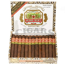 Load image into Gallery viewer, Arturo Fuente Gran Reserva Petit Corona Maduro Box Open