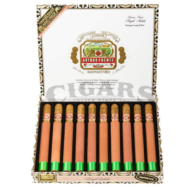 Load image into Gallery viewer, Arturo Fuente Gran Reserva Royal Salute Natural Box Open