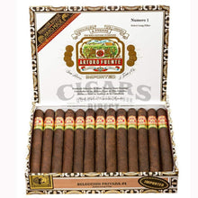 Load image into Gallery viewer, Arturo Fuente Gran Reserva Seleccion Privada No 1 Maduro Box Open