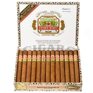 Arturo Fuente Gran Reserva Seleccion Privada No 1 Natural Box Open