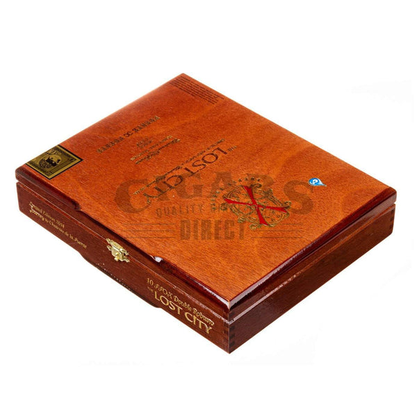 Load image into Gallery viewer, Arturo Fuente Lost City Double Robusto Box Closed