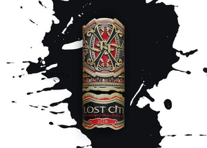 Arturo Fuente Lost City Lancero Box Open