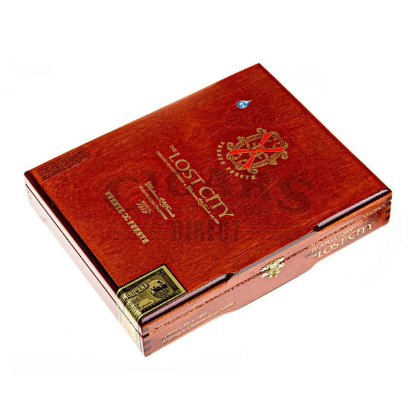 Load image into Gallery viewer, Arturo Fuente Lost City Lancero Box Closed