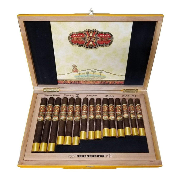 Load image into Gallery viewer, Arturo Fuente Opus X Rosado Oro Oscuro Maduro Collection
