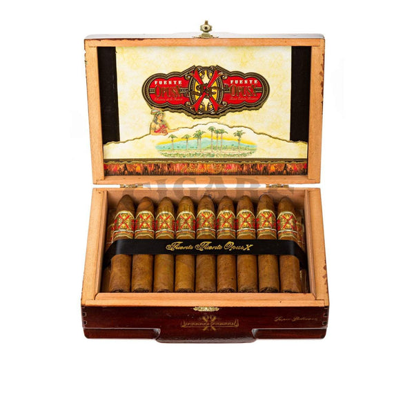 Load image into Gallery viewer, Arturo Fuente Opus X Super Belicoso Box Open
