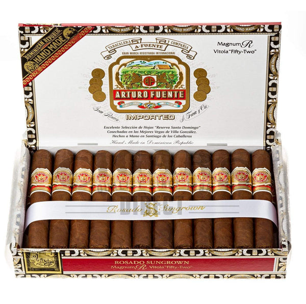 Load image into Gallery viewer, Arturo Fuente Rosado Sungrown Magnum R Vitola 52 Box Open