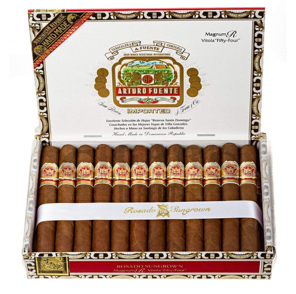 Load image into Gallery viewer, Arturo Fuente Rosado Sungrown Magnum R Vitola 54 Box Open