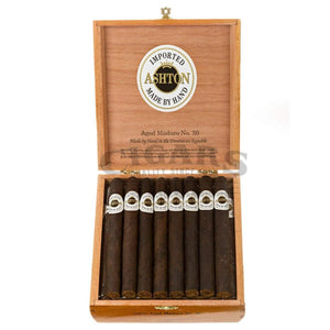 Ashton Aged Maduro No30 Box Open