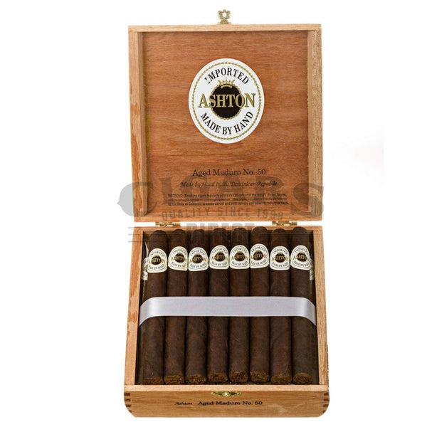 Load image into Gallery viewer, Ashton Aged Maduro No50 Box Open