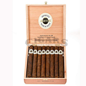 Ashton Aged Maduro No60 Box Open