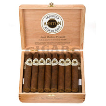 Load image into Gallery viewer, Ashton Aged Maduro Pyramid Box Open