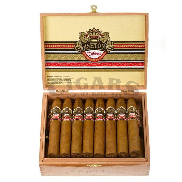 Load image into Gallery viewer, Ashton Cabinet Series Belicoso Box Open