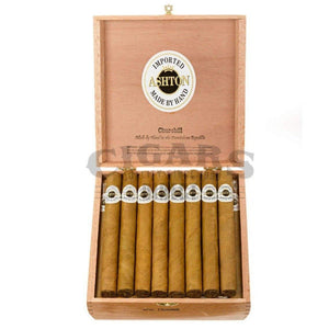 Ashton Classic Churchill Box Open