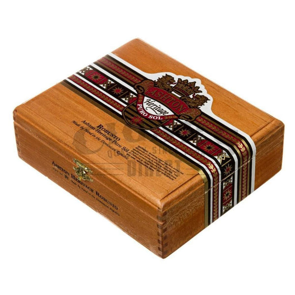Load image into Gallery viewer, Ashton Heritage Puro Sol Robusto Box Closed