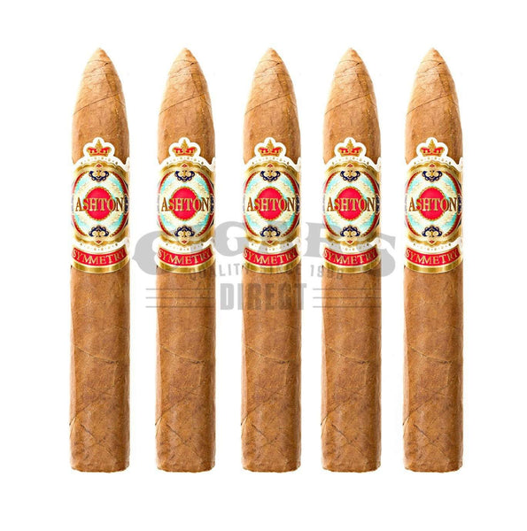 Load image into Gallery viewer, Ashton Symmetry Belicoso 5 Pack