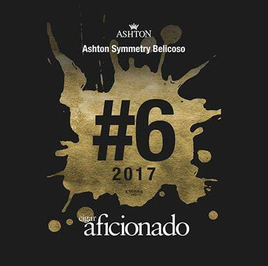 Ashton Symmetry Belicoso 2017 No.6 Cigar of The Year