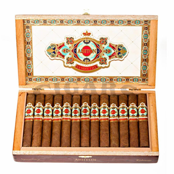 Load image into Gallery viewer, Ashton Symmetry Robusto Box Open