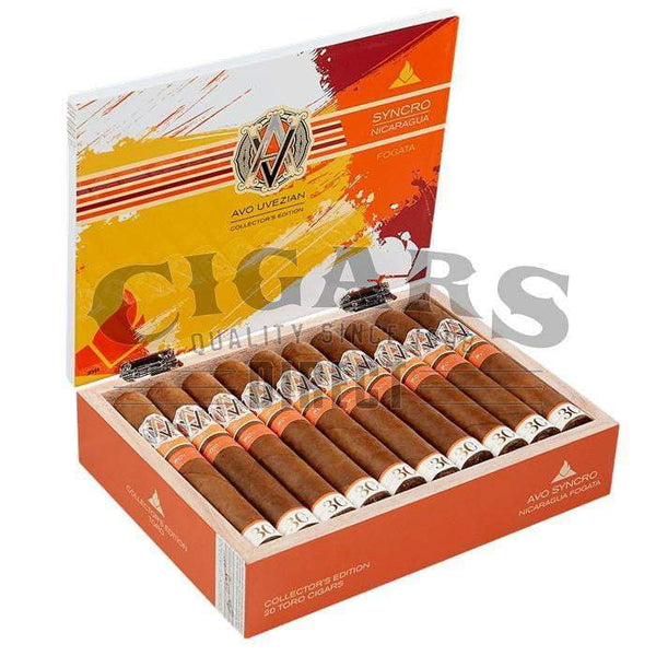 Load image into Gallery viewer, AVO Syncro Nicaragua Fogata 30 Year Limited Edition Toro Open Box