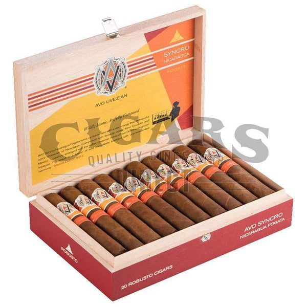Load image into Gallery viewer, AVO Syncro Nicaragua Fogata Robusto Open Box