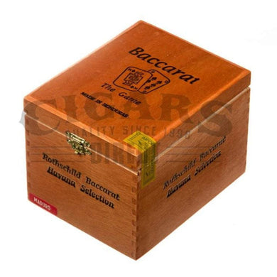 Baccarat Original Rothschild Maduro Box Closed
