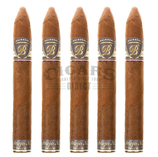 Load image into Gallery viewer, Balmoral Anejo Xo Torpedo Mk52 5 Pack