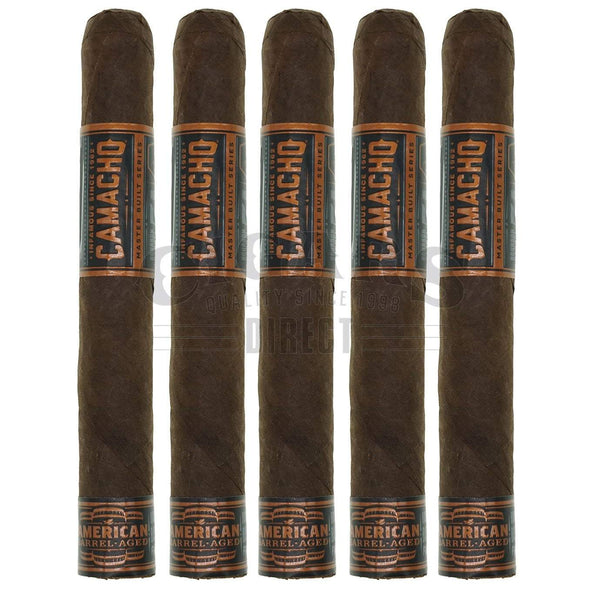 Load image into Gallery viewer, Camacho American Barrel Aged Toro 5 Pack