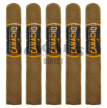 Load image into Gallery viewer, Camacho Connecticut Bxp Robusto 5 Pack