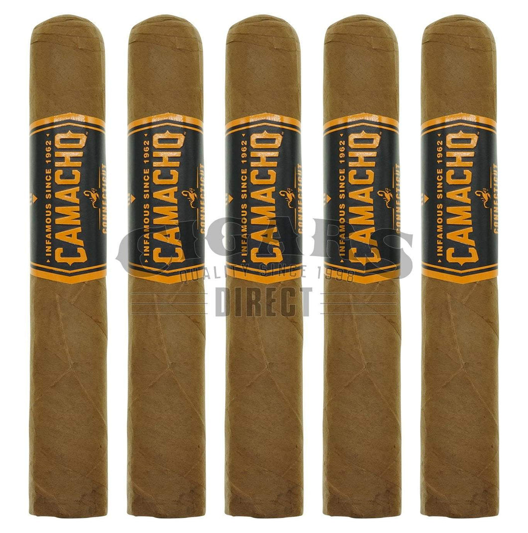 Camacho Connecticut Bxp Robusto 5 Pack