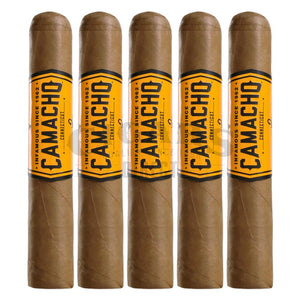 Camacho Connecticut Robusto 5 Pack