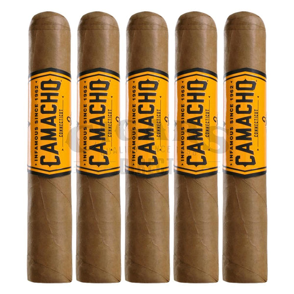Load image into Gallery viewer, Camacho Connecticut Robusto 5 Pack