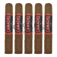 Load image into Gallery viewer, Camacho Corojo Bxp Gordo 5 Pack