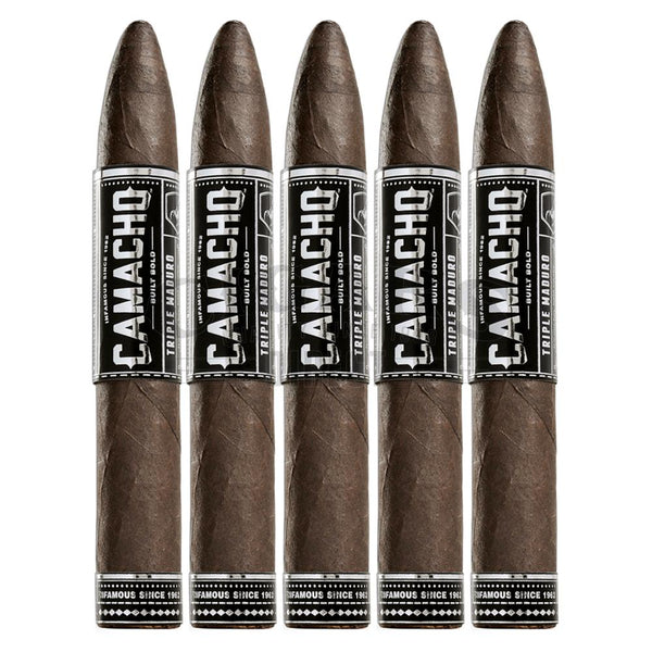 Load image into Gallery viewer, Camacho Triple Maduro Figurado 5 Pack