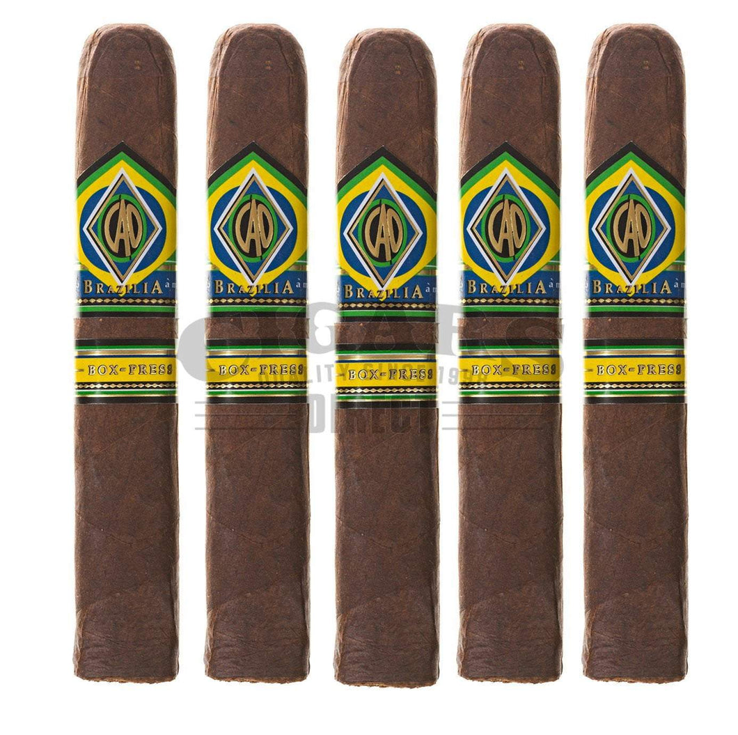 Cao Brazilia Box Press Toro 5 Pack