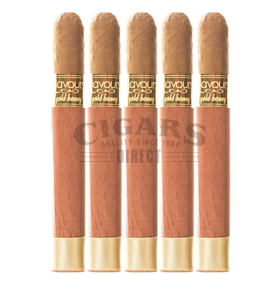 Cao Flavours Gold Honey Corona 5 Pack
