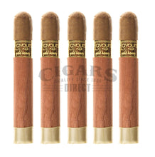 Load image into Gallery viewer, Cao Flavours Gold Honey Robusto 5 Pack