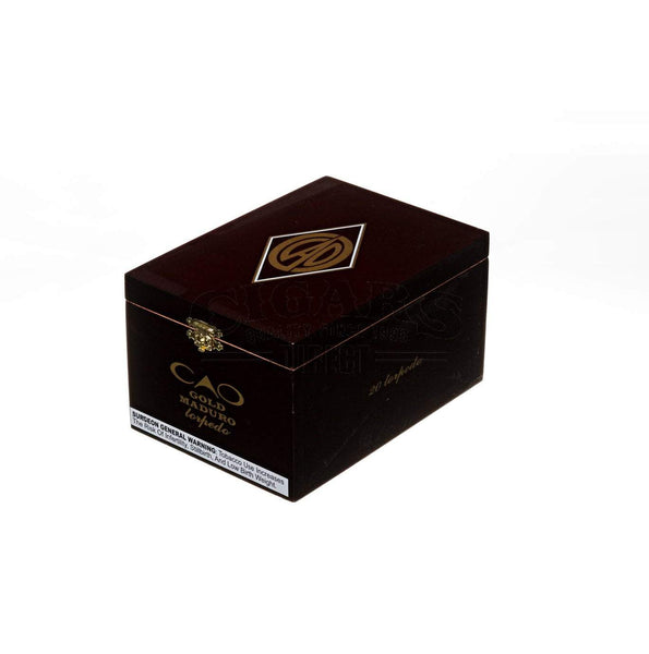 Load image into Gallery viewer, Cao Gold Maduro Torpedo Box Closed