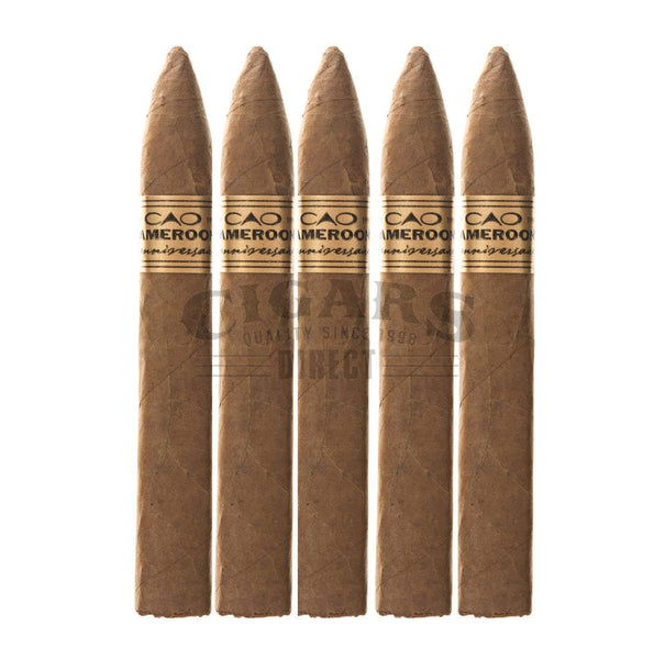 Load image into Gallery viewer, Cao Lanniversaire Cameroon Belicoso 5 Pack