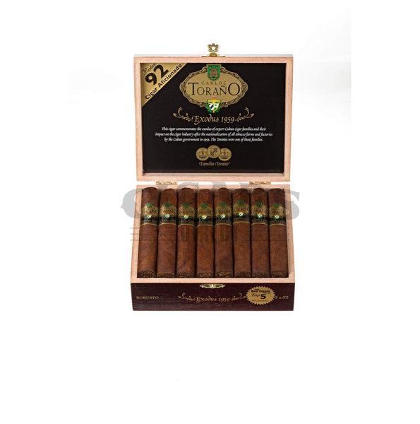 Load image into Gallery viewer, Carlos Torano Exodus Gold 1959 Robusto Box Open