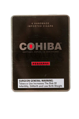 Cohiba Black Pequenos Box Closed