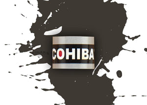 Cohiba Black Robusto Tubed Band