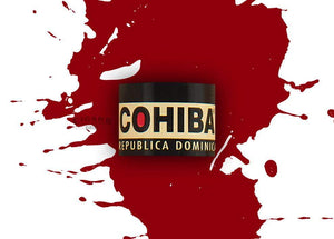 Cohiba Red Dot Crystal Corona Band