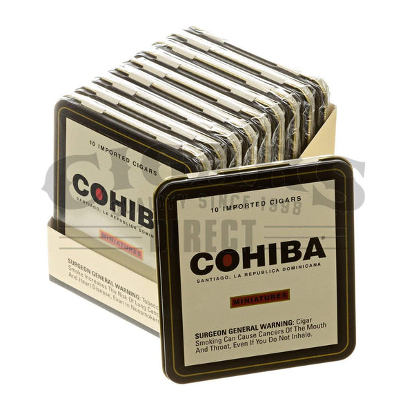 Load image into Gallery viewer, Cohiba Red Dot Miniatures 10 Tins