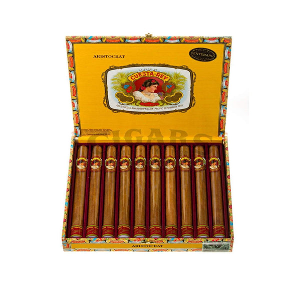 Load image into Gallery viewer, Cuesta Rey Centenario Aristocrat Box Open