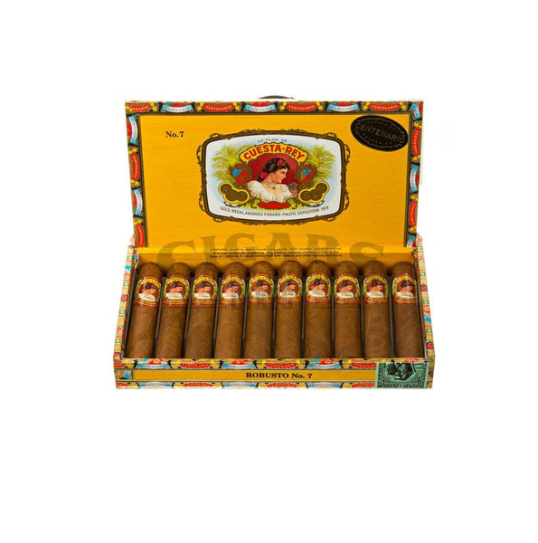 Load image into Gallery viewer, Cuesta Rey Centenario Robusto No.7 Box Open